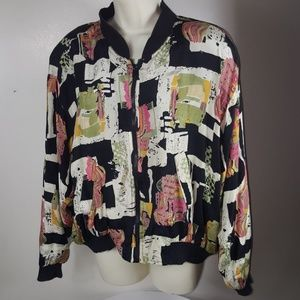 Vintage 80's Windbreaker Bomber Jacket
